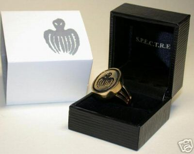007 SPECTRE Ring 18KT  This is a very nice Gold Solid S.P.EC.T.R.E Ring  Seen for  the first time in the movie from Russia With love