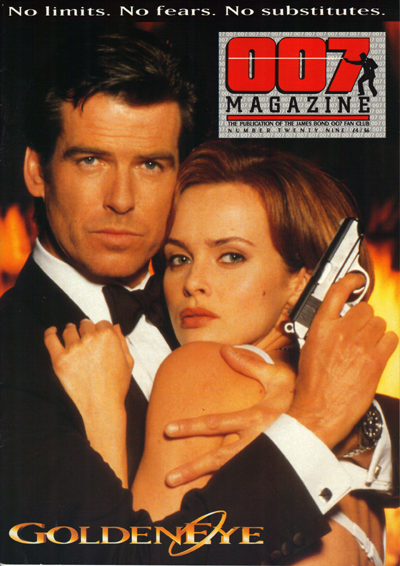 007 Magazine #29 (1996)  GoldenEye Special Pierce Brosnan and Izabella Scorupco from GoldenEye