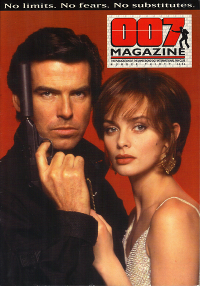 007 Magazine 30 (1997) Pierce Brosnan and Izabella Scorupco from GoldenEye