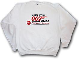 Official Albert R. Broccoli 007 Stage Clothing Sweatshirt