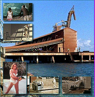 Reynold's Bauxite Docks, Ocho Rios, St. Ann, Jamaica (Laboratory of Dr. No - escape by Bond and Honey)