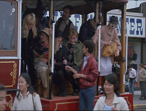 Maud Adams   A View To A Kill (1985)  Woman In Streetcar (Uncredited)