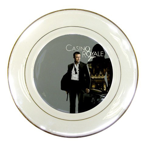 James Bond Set of 13 Collectible Porcelain Plates(Rare)