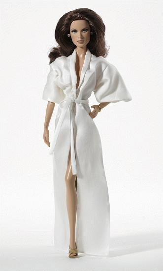 James Bond Maud Adams in Octopussy Barbie Doll  T4550