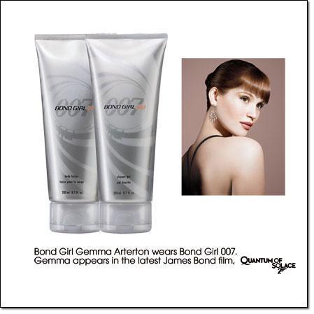 Avon lanserar James Bond 007 parfym för kvinnor