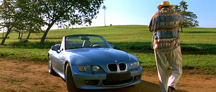 bmw z3 james bond movie goldeneye 1995 pierce brosnan. Black Bedroom Furniture Sets. Home Design Ideas