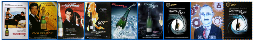 Bollinger Champagne posters  8