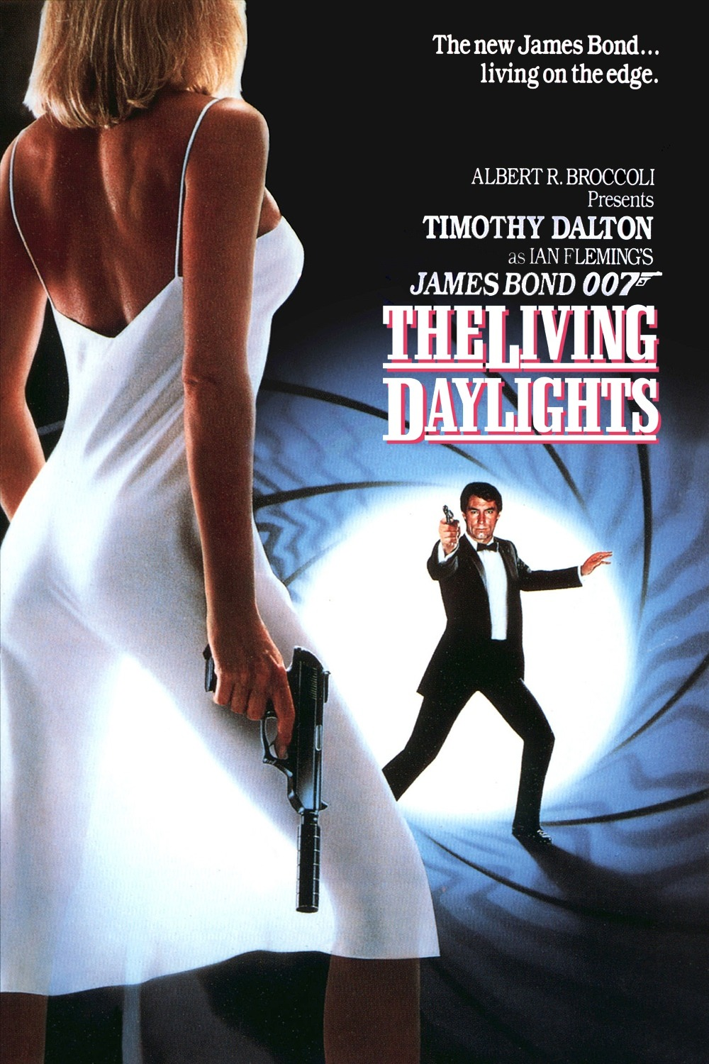 The Living Daylights 1987 Iskallt Uppdrag poster