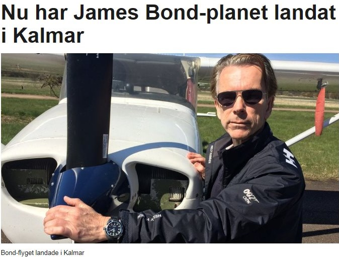 Nu har James Bond Planet landat i Kalmar