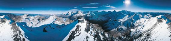 Schilthorn  Alps to Mont-Blanc
