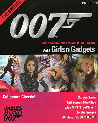 The Official 007 Multimedia Screen Saver Collection : Vol. 1 Girls n Gadgets  James Bond
