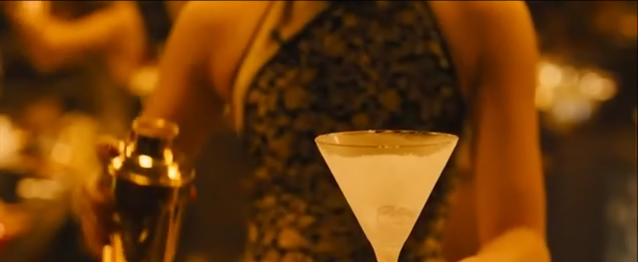 Dry Martini Shaken Not Stirred in Skyfall 2012