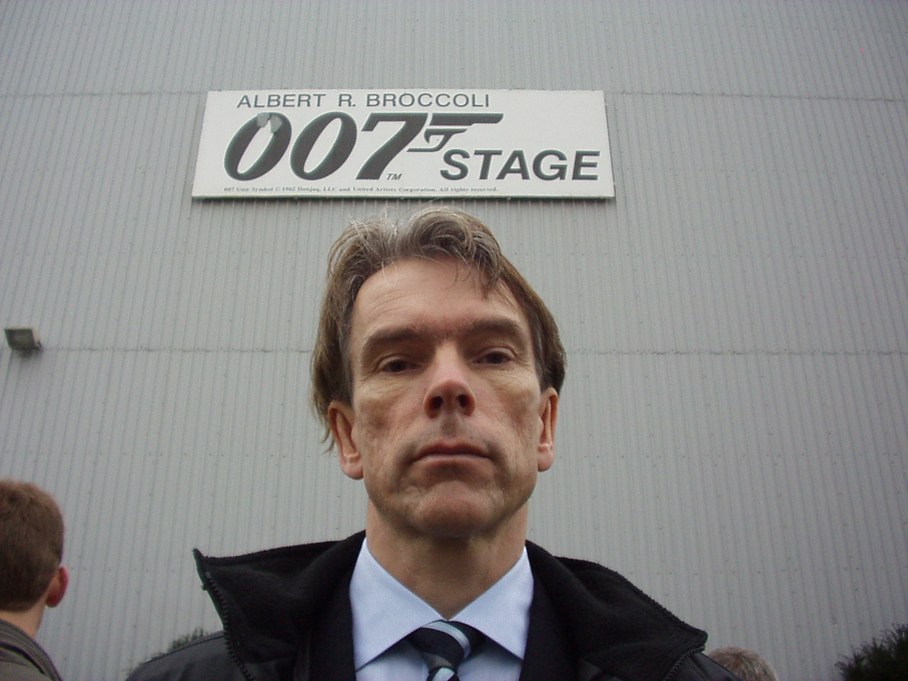 The name is Bond James Bond in Pinewood studios London