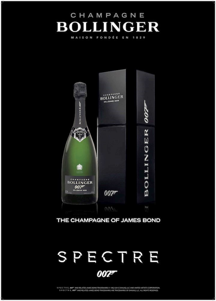 Poster Bollinger Spectre Limited Edition-50x70.