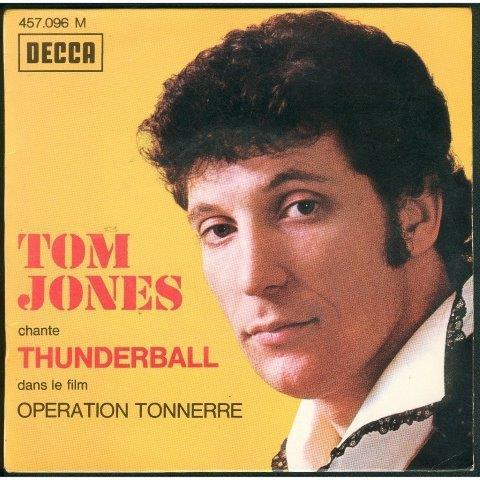 Tom Jones Thunderball James Bond movie 1965