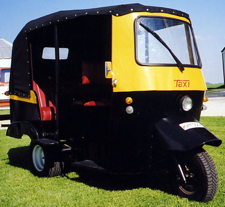 TUK-TUK was used by the henchman Gobinda in Octopussy